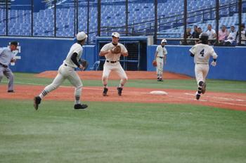 高校野球 準決勝 第一試合