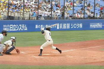 日野高校 写真 西東京大会 準決勝
